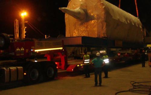 MTS Logistics Deliver Huge Boiler from Belgium to Turkey