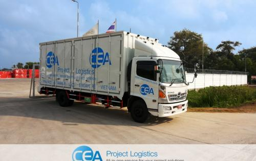 CEA Project Logistics Offer New Service in Songkhla