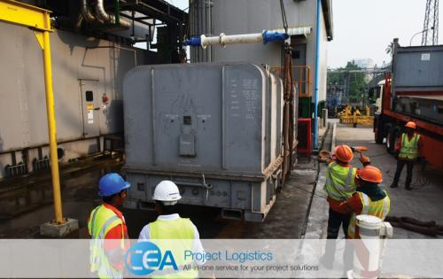 CEA Myanmar Complete Export Transportation of Gas Turbine