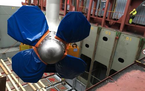 FREJA Move Huge Modules Across the World