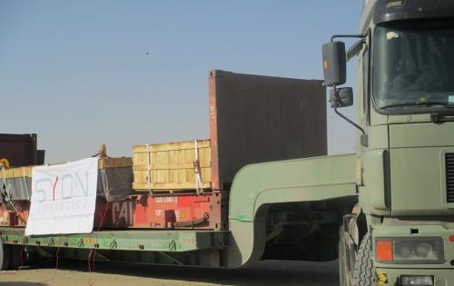 Syon Handle Transport of Boiler for Huge Factory in the UAE