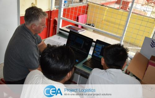 CEA Myanmar Deliver Important X-Ray Machines