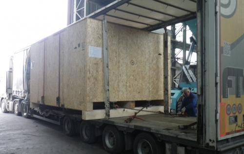 Intertransport GRUBER Ship Heavy Cases to Saudi Arabia