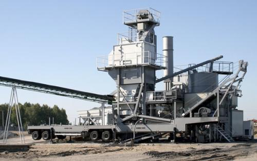 Fortune Move Big Asphalt Mixing Plant