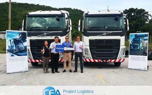 CEA Expand Fleet with New Volvo FH 440 Prime Movers
