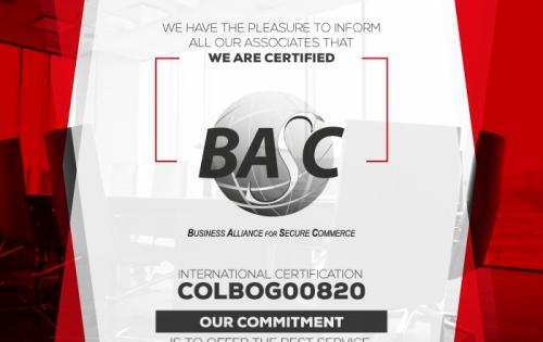 HT Line in Colombia Awarded with BASC Certification