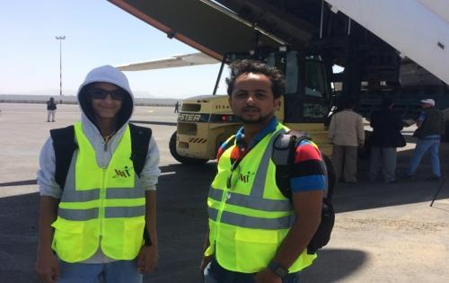 WorldLink with Humanitarian Support Services in Yemen