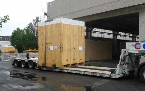 WSS Handle Shipment from Genoa to Jeddah