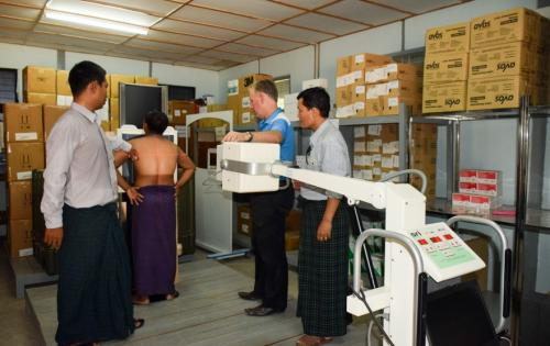 CEA Myanmar Helps Continue the Fight Against Tuberculosis