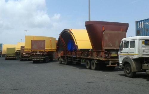 Green Channel Forwarders with Over-Dimensional Project in India