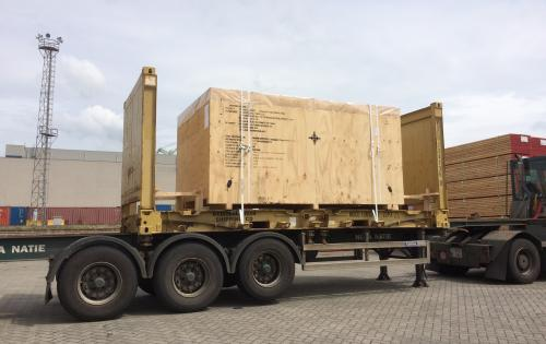 Intertransport GRUBER Handle 7 Lots of Project Cargo