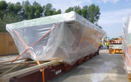 Intertransport GRUBER Complete Transport of Cement Plant from Austria to Indonesia