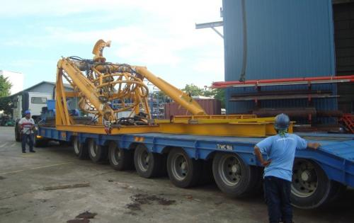 JS World Freight Complete Land Transport of Oil & Gas Equipment