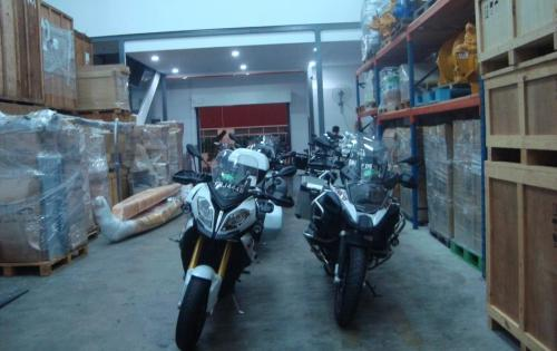JS World Freight Distributor Assists in BMW Motorbike Trip to South Korea