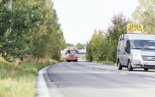 FREJA Handle Local Transport of Flowrider Unit