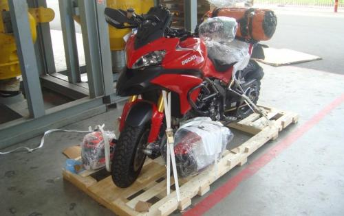 JS World Freight Distributor with Air Transport of Motorbikes to Kazakhstan
