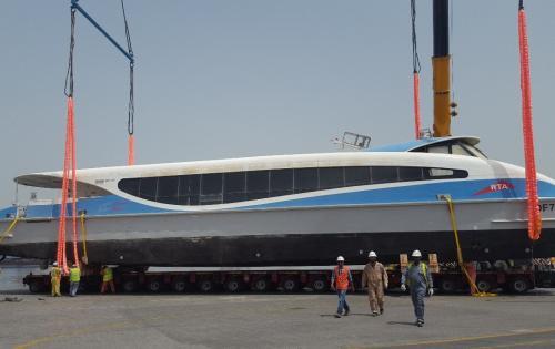 WSS UAE Project Team Handles Passenger Ferry Boats in Dubai