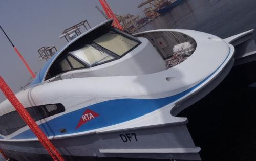 WSS UAE Project Team Handles Passenger Ferry Boats in Dubai