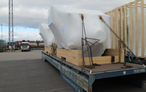 Urgent Shipment of Generators by Intertransport GRUBER