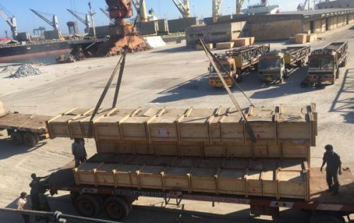 LCL Logistix with Project Cargo Move from India to Senegal