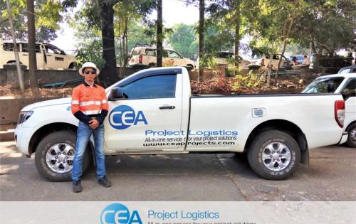 CEA Projects Complete Difficult Transportation in Myanmar