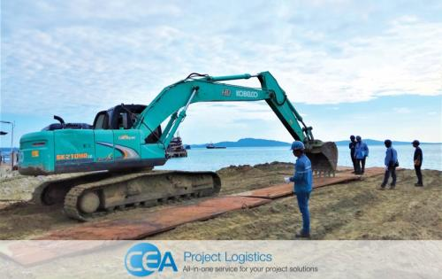 CEA Projects Report Challenging Transport of Power Plant Equipment in Myanmar