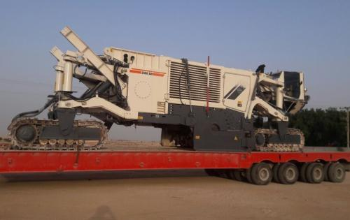 Turk Heavy Transport Move Surface Miner