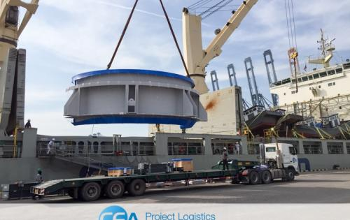 CEA Projects Carry Out Swift Transport of Breakbulk & OOG Cargo in Thailand