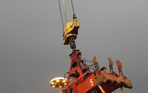 Alpha Handle Shipment of Shore Crane from Italy to South Korea