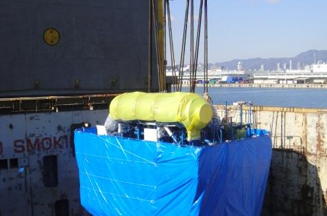 FREJA Handle 3 Shipments of Huge Engines from Japan to Europe