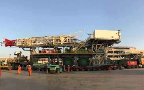 Khimji Ramdas Provide Specialised Freight Management Solutions for Rig Move
