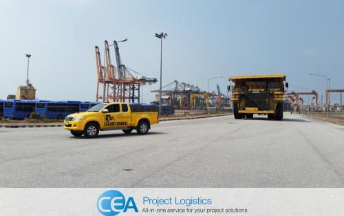 CEA Complete Komatsu Trucks Project