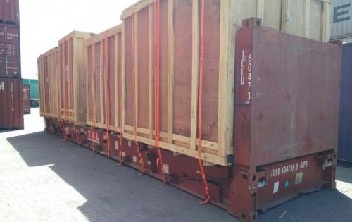 LCL Logistix Ship Machinery from India to Kenya