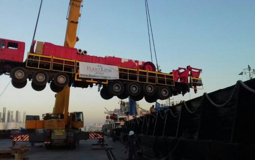 Fleet Line Shipping Services Report Movement of Complete Mobile Rig