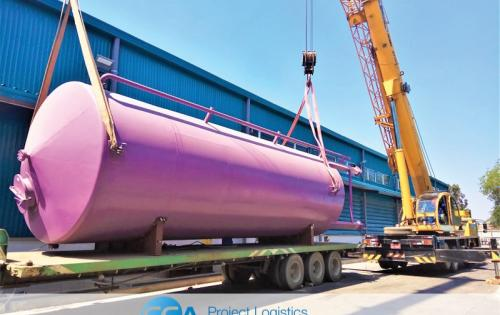 CEA Myanmar Contracted for Transportation & Installation of Storage Tanks