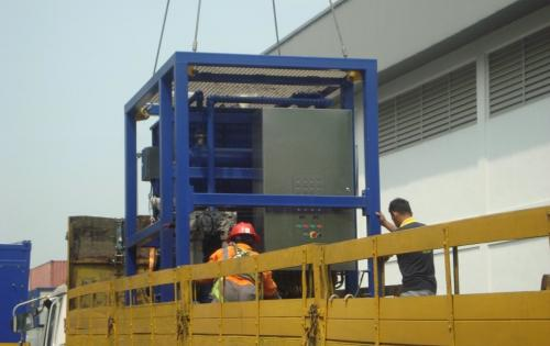 JS World Freight Handle Cargo for Offshore Project
