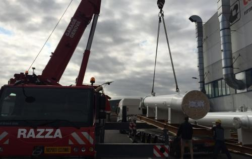 Alpha with Important Breakbulk Shipment from Italy to Mexico