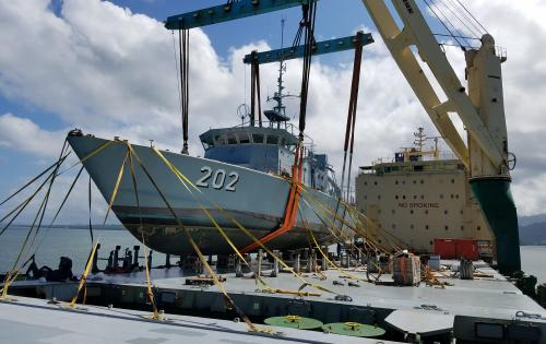 Westlink Logistics Successfully Deliver Patrol Boats