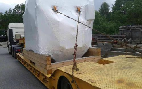 Intertransport GRUBER Arrange Transport of Generators
