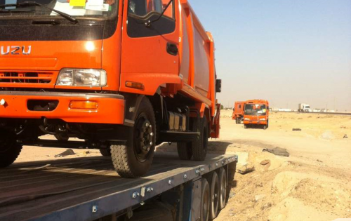 Al-Nahrain Handling 250 Garbage Vehicles in Iraq