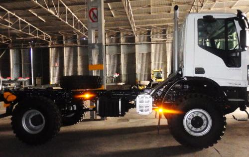 Fortune & BATI with Regular Traffic of Italian Trucks
