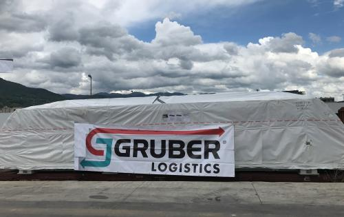 GRUBER Handles Project Shipment to Siberia by Rail