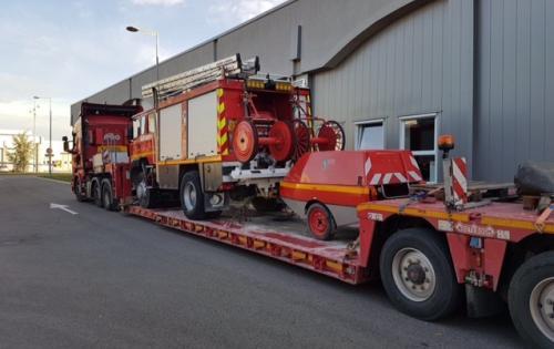 VVM Cargo Transport Fire Engines