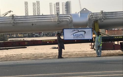 MEPL Specialise in GCC Land & Project Services for Oversized Cargo