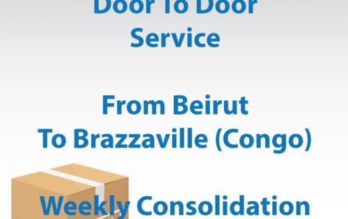 Seven Seas with Regular Door-to-Door Service from Beirut to Brazzaville