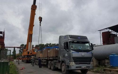 Cuchi Shipping with Transportation of Steam Turbine & Generator