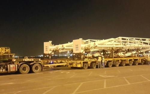 Turk Heavy Transport Successfully Move Marine Loading Arms
