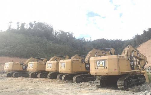 Cuchi Shipping with Transportation of Excavators