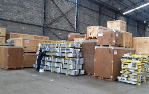 Athena Move Shipment to Italy for Power Plant