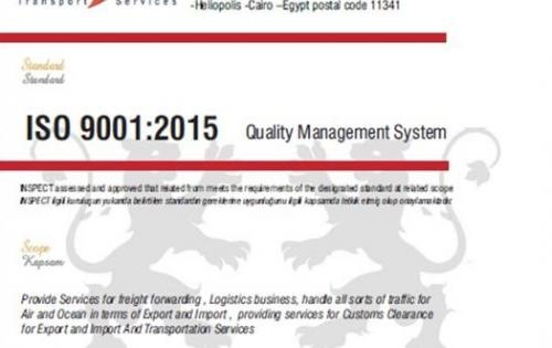 Rockit Transport Services Successfully Obtain ISO 9001 Certification